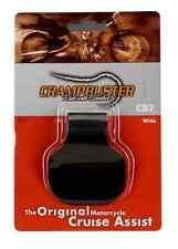 "NEW CRAMPBUSTER STANDARD BLACK THROTTLE ASSIST WIDE GRIPS 1 3/8"" AND UNDER CB2"