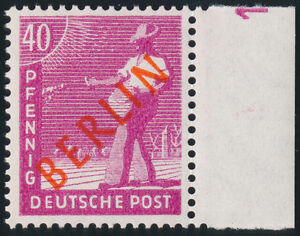 BERLIN-MiNr-29-DZ-Druckerzeichen-1-postfrisch-Befund-Schlegel-Mi-1200