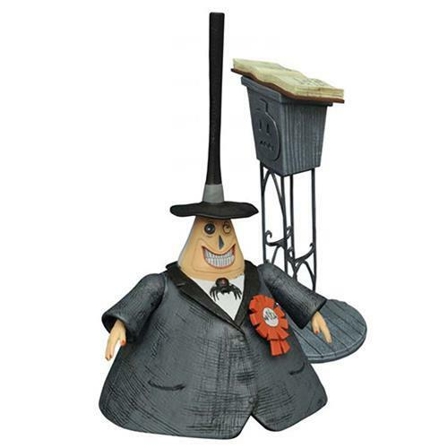 Nightmare before Christmas Select Action Figure Series 2 The Mayor 16 cm