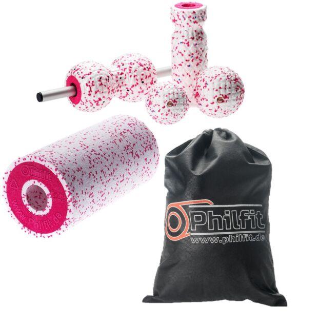 Faszienrolle PHILFIT Big Roll soft Massagerolle Foam Physio Rolle Yogarolle
