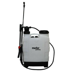 Image Is Loading Pressure Sprayer 20L Garden Knapsack Water Backpack Spray