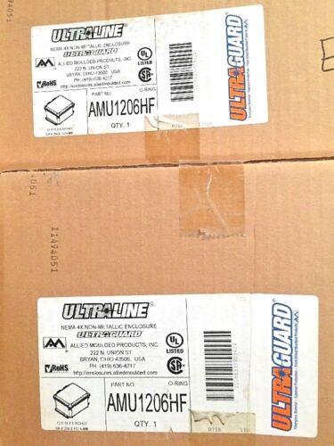 UltraGurad Nema 4X Non-Metallic Enclosure AMU1206HF K