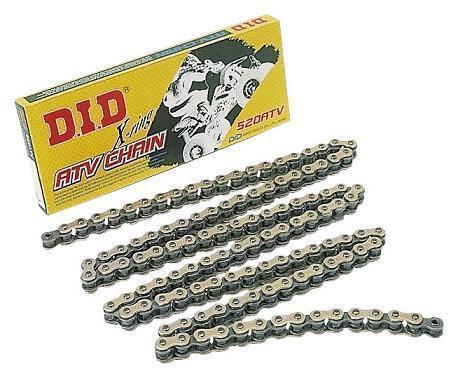 D.I.D 520VX3 X 106FB 520 VX3 Pro-Street X-Ring V Series Chain 106 Links Natural Steel