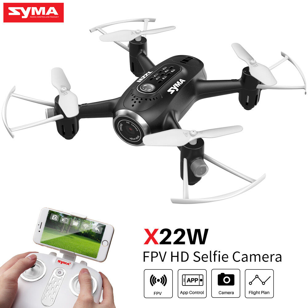 Syma X22W RC Drone Quadcopter with Camera WIFI FPV 4CH Altitude Hold for Kids