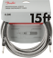 Genuine-Fender-Professional-Series-Guitar-Instrument-Cable-WHITE-TWEED-15-039-ft thumbnail 1