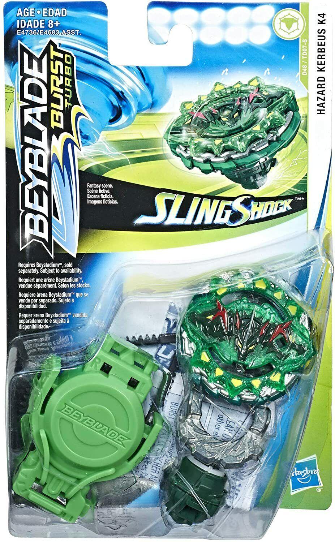 BEYBLADE Burst Turbo Slingshock Hazard Kerbeus K4 Starter Pack D48//TD07-S Hasbro