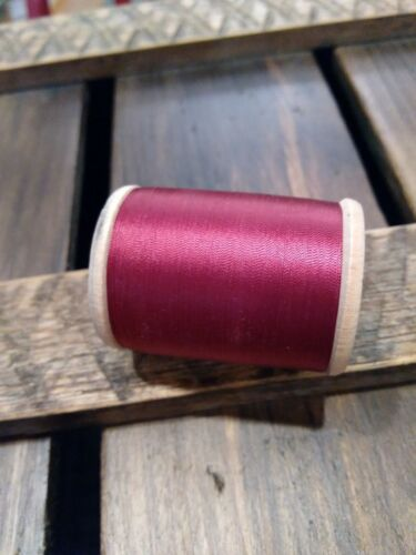 Vintage Gudebrod Size 00 Garnet 206 Nylon Rod Winding Thread 1600 Yards