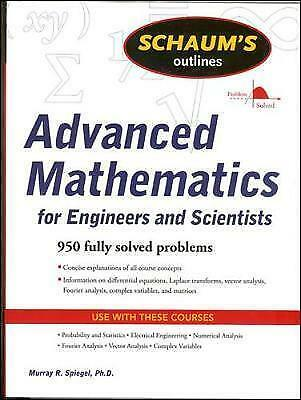 1 of 1 - Schaum's Outline of Advanced Mathematics for Engineers and Scientists-ExLibrary