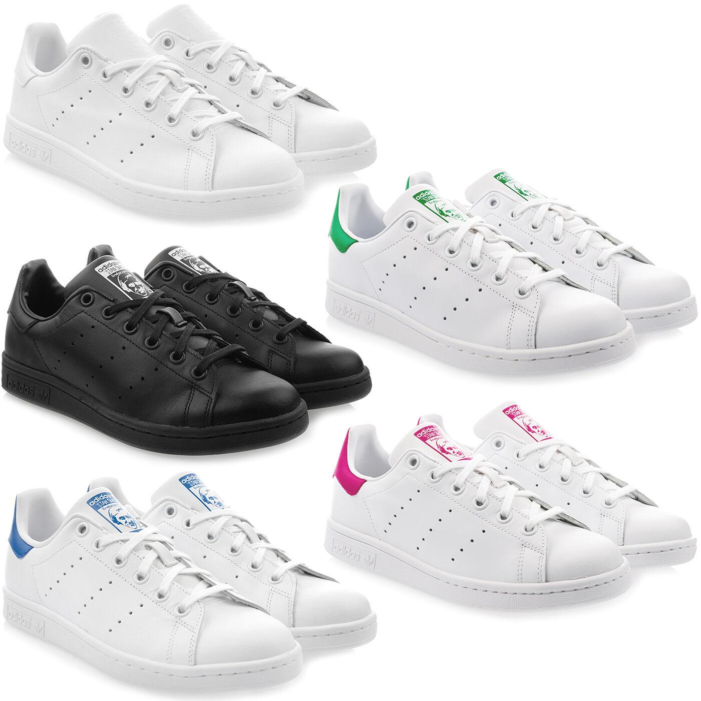 Adidas Stan Smith J Junior Femmes Sneaker Baskets Unisexe Unisexe Unisexe Chaussures De Loisirs Cuir 236b00