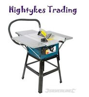 """Brand Table Saw With Powerful 1600w Motor 10"""" Blade With Extensions"""