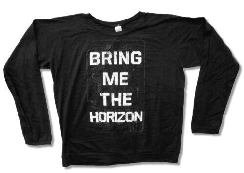 Bring Me The Horizon Book Cover Girls Juniors Black Long Sleeve Shirt New