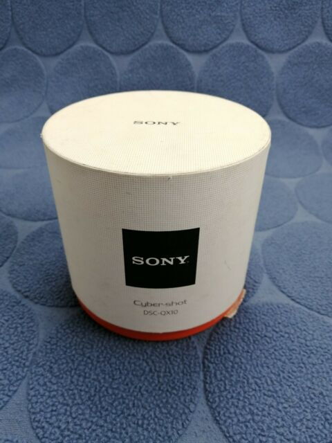 Sony Cyber-shot DSC-QX10 18.2 MP Digital Camera Black