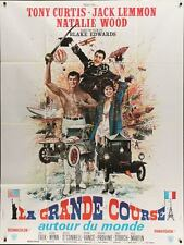 GREAT RACE French Grande movie poster 47x63 NATALIE WOOD TONY CURTIS JACK LEMMON