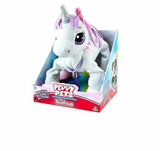 Peppy Pets Unicorn Fun Pull Along Toy That Walks