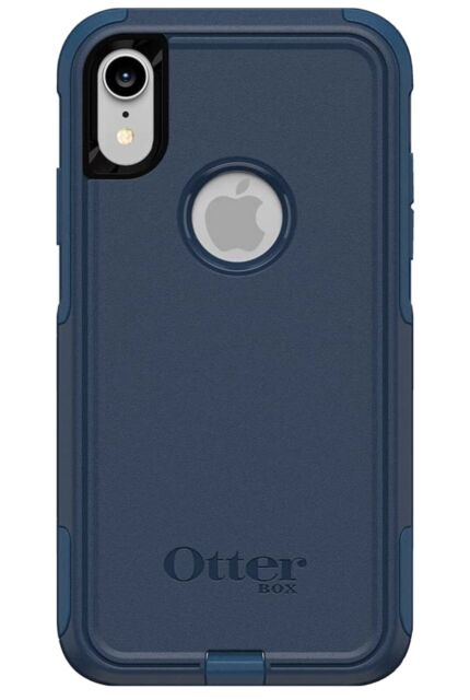 Otterbox - Commuter Case for Apple iPhone XR - BLAZER BLUE/STORMY SEAS BLUE