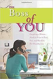 1 of 1 - The Boss of You: Everything a Woman Needs to Know to Start...LIKE NEW, FREE POST
