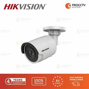 Hikvision Bullet Camera DS-2CD2045FWD-I F12, 4MP, H.265 Micro SD slot, PoE