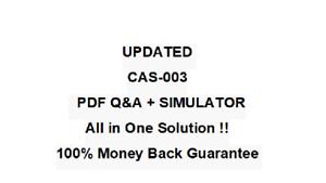 CompTIA Advanced Security Practitioner CASP Test CAS-003 Exam QA PDF&Simulator