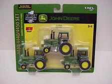 1/64 ERTL JOHN DEERE 4430/4440/4450 TRACTOR SET