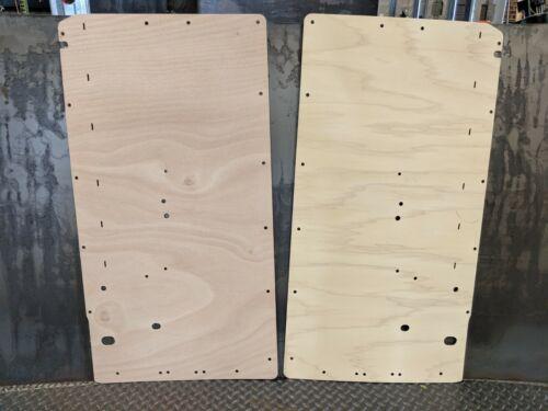 BMW 2002 Wood Factory Replacement Door Panels FRONT