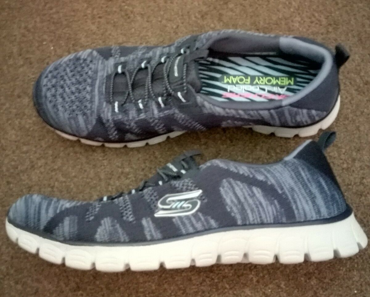 Skechers EZ Flex 3.0 prendre la tête Baskets Taille UK 4.5 New