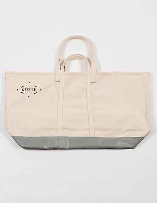 Carhartt Steele Tela Ampia X Tote Bag, Bianco Sporco-mostra Il Titolo Originale
