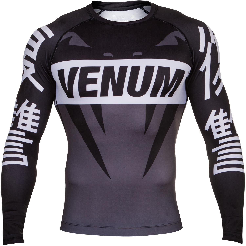Venum Revenge Rashguard - grau, 02677 - Rash Guard - Compression Wear
