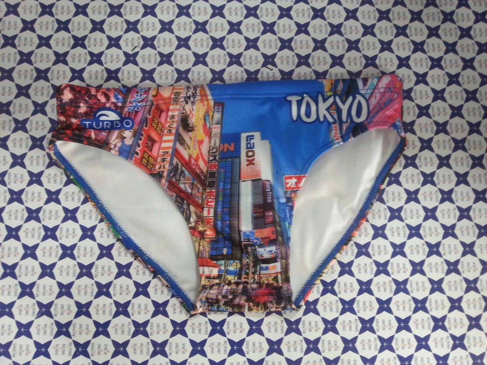 Costume Slip TURBO TOKYO CITY Mare Piscina Pallanuoto    SCONTATO  730258
