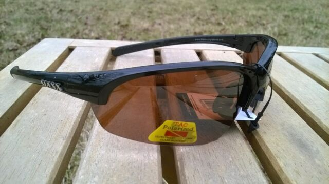 396b448ae3e Maxx HD Sunglasses Domain HDP black golf driving fishing polarized brown  lens I9