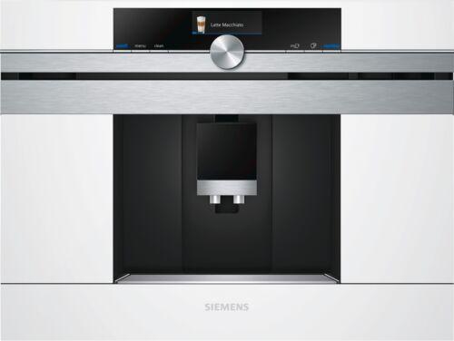 Siemens ct636lew1 Café vollautomaten Blanc ct636lew1