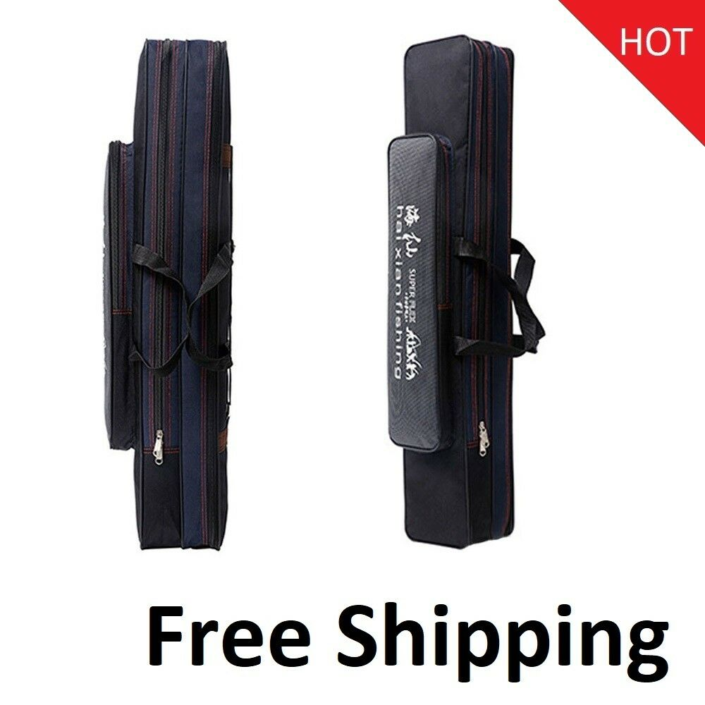 Waterproof Fishing Rod Bag Case For Fishing Tools 2 3 Layer 70 80 90 120