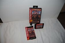 SUPER STREET FIGHTER 2 SEGA GENESIS GAME COMPLETE IN BOX