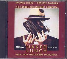 HOWARD SHORE ORNETTE COLEMAN - Naked lunch - CD OST 1992 SIGILLATO SEALED