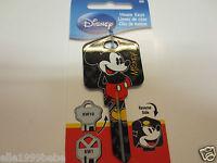 Mickey Mouse Key Kwikset KW1 House Key Blank / Authentic Disney House Keys