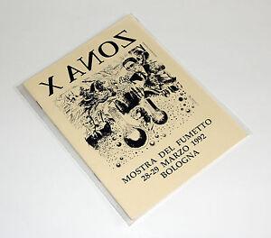 Martin-Mystere-X-ANOZ-Zona-X-albetto-della-mostra-del-fumetto-di-Bologna-1992