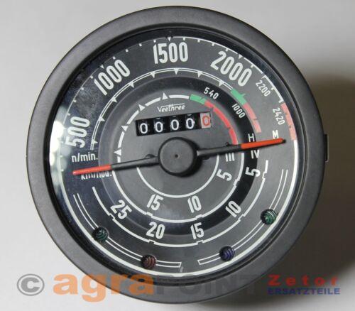 nuevo-Zetor 50 super-cuentarrevoluciones-tractor metros-Zetor by agrapoint ar