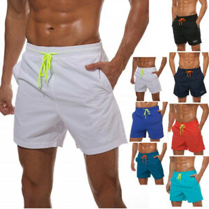 b0a9920948 Men's Casual Beach Board Shorts Quick Dry Swim Surf Sport Trunks ...
