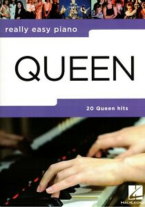 Klavier-Noten-QUEEN-20-Queen-Hits-Really-Easy-Piano-leicht