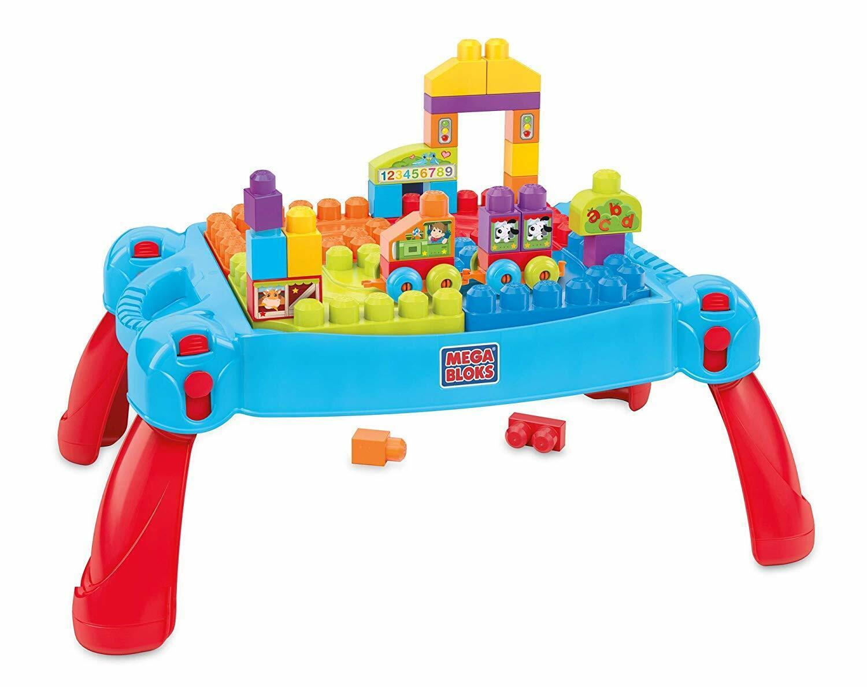 Mega Bloks Mattel CNM12   BAU und Spieltisch   eBay