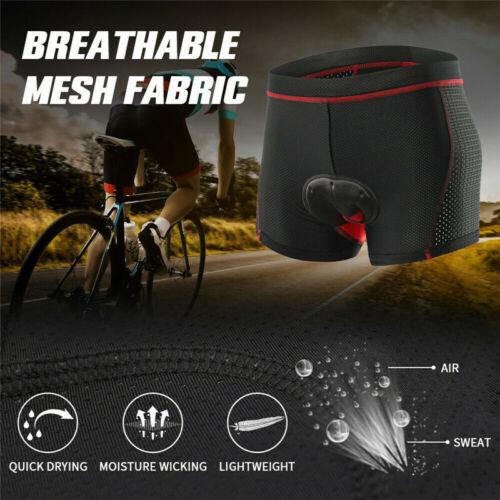 show original title Details about  /Radunterhose Mens//Ladies Bicycle Pants 5D Gel Seat Cushion MTB Bike Underpants