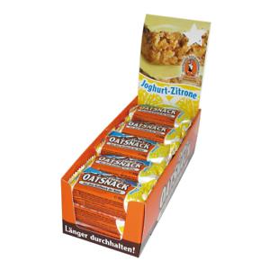9c0d39e594 Davina Energy Oat Snack 15 Riegel Joghurt Zitrone Haferflockenriege Overig  17,92€/1kg