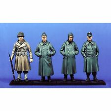 SOL RESIN FACTORY, MM006, 1:35, GERMAN CAPTIVE WW II (4 FIGURES)