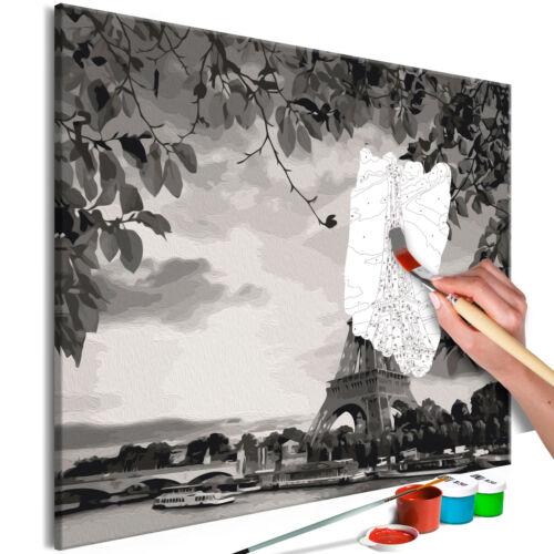 Malen nach Zahlen Erwachsene Wandbild Malset mit Pinsel Malvorlagen n-A-0567-d-a
