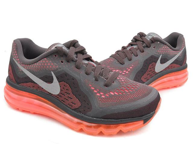 free shipping 0b0de a0ebd Nike Womens Air Max 2014 Sz 10.5 Black Grey Pink Punch Orange Running  621078 200 for sale online   eBay