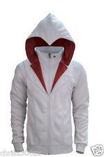 Assassin's Creed Unity - Ezio Brotherhood Hoodie sweater, unisex, logo, white