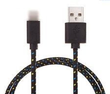 1Stk Ladekabel Datenkabel Kabel für iPhone5/6 Handy Nylon Kordel Schwarz