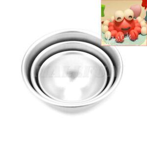 3D-Silver-Aluminum-Alloy-Ball-Sphere-Cake-Baking-Mold-Tin-Kitchen-Bakeware-Set