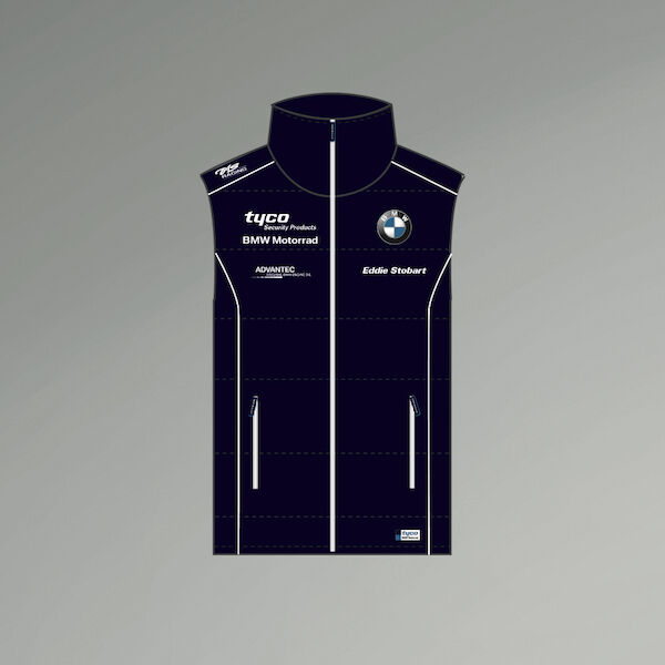 2017 Official Tyco BMW Team Zip Up Body Warmer - 17TB-BW