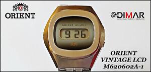 Vintage LCD Orient Quartz M620602A-1, Japan, Year 1976