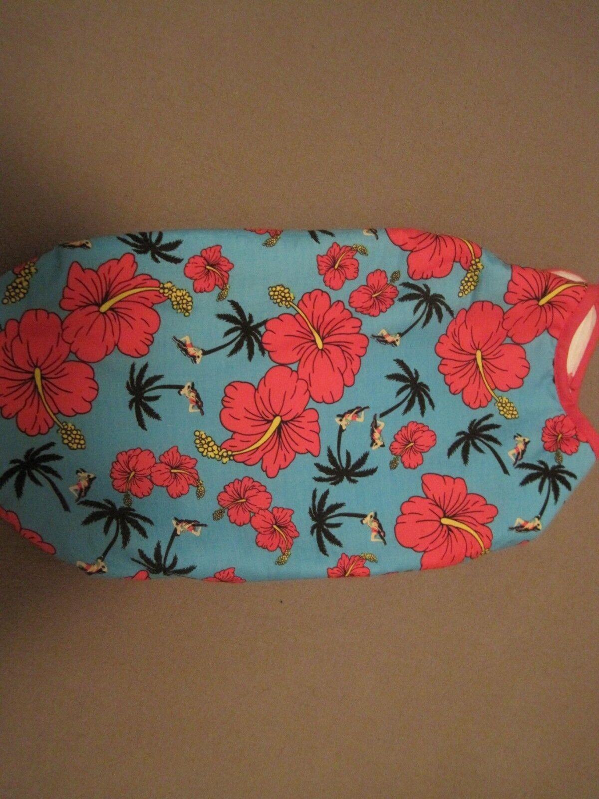 SIMPLY squisito MINI Bassotto TURCHESE C W Rosso fiori Coat Jacket 15  .00